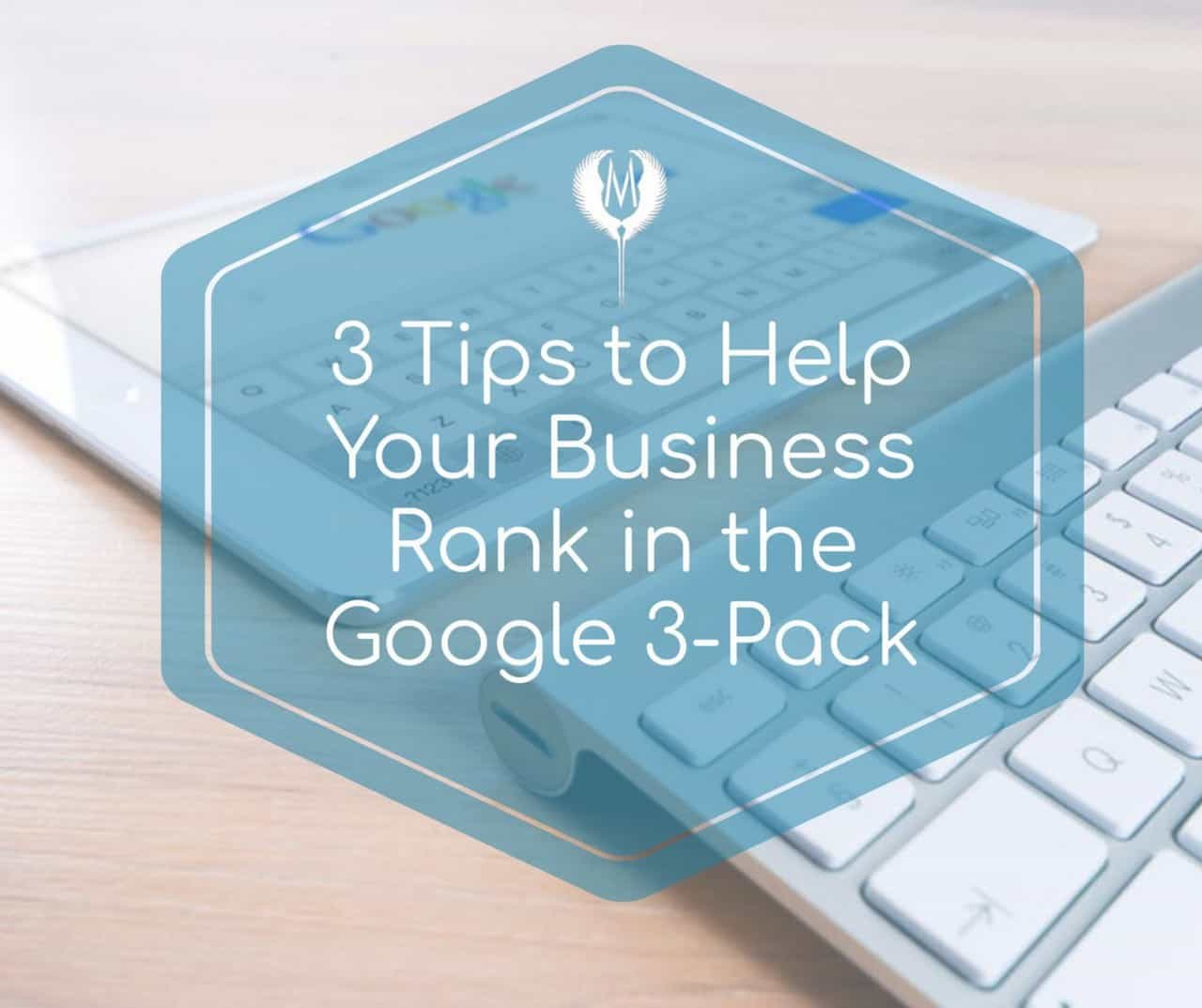 Rank your business Google 3-pack Indianapolis Marketing Agency